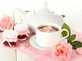 玫瑰养发茶,玫瑰黑糖茶,玫瑰洋参茶