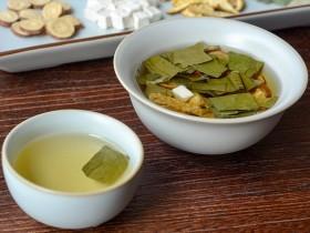 甘草茯苓陈皮荷叶茶,痰湿体质养生茶