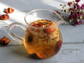 菊花山楂枸杞茶的功效,菊花山楂减肥养生茶制作方法