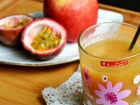 【百香果】百香果搭配苹果一起榨汁,美容养颜增强免疫力